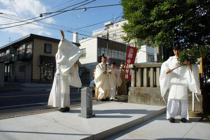 松戸神社 竣工奉祝祭  2011.9.29_e0223769_1834317.jpg