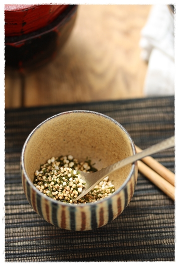 いつでもすぐに雑穀米!ふりかけの作り方_b0165178_1564416.jpg