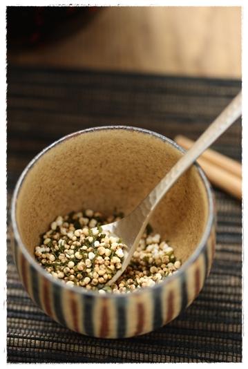 いつでもすぐに雑穀米!ふりかけの作り方_b0165178_159138.jpg