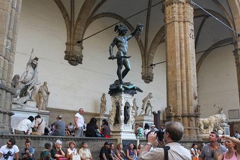 フィレンツェの町を散策☆_a0154793_21194030.jpg