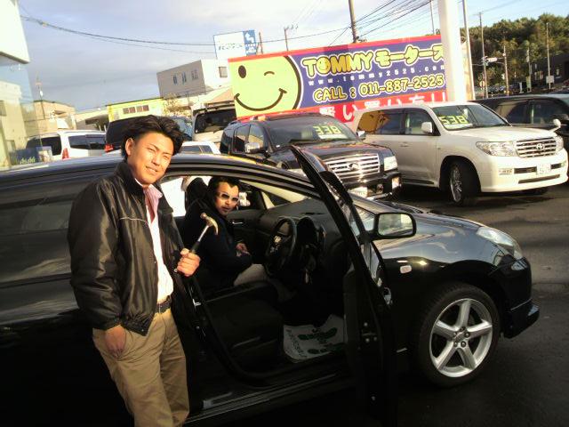 ランクル TOMMY札幌店 10月7日!本日の納車準備☆_b0127002_2235280.jpg