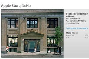 スティーブ・ジョブズさん追悼特集 ニューヨークSOHO店前_b0007805_11414142.jpg