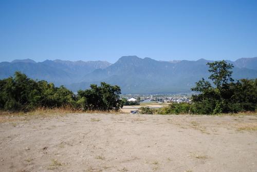 北アルプスの景色のよい土地_c0218716_18451142.jpg