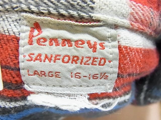 60's KING KOLEマチ付きネルシャツ&PENNYS ヘビーネル マチ付き!_c0144020_2244094.jpg