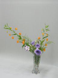 少ない花材で上手に四方正面いけました!_c0165824_9454175.jpg