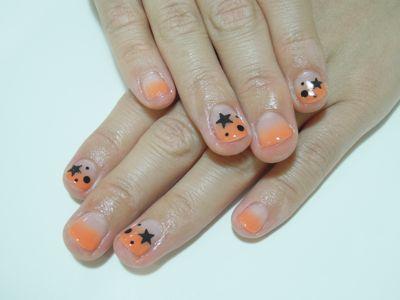 Halloween Nail_a0239065_19523744.jpg