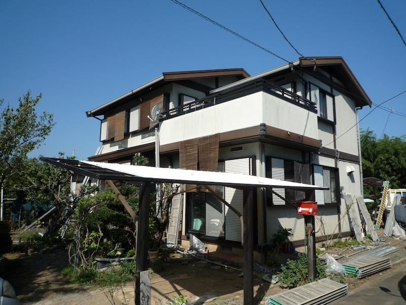 外部塗装@ご近所さん_c0131878_1915282.jpg