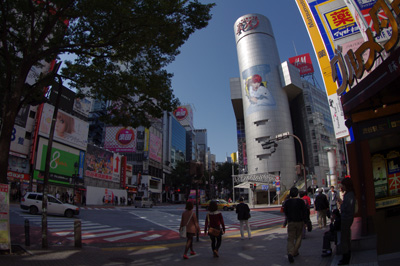 10月7日(金)今日の渋谷109前交差点_b0056983_114121100.jpg
