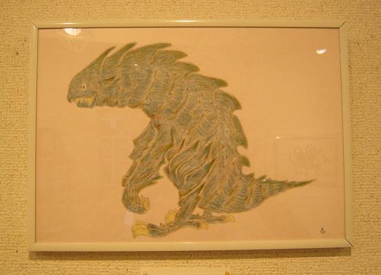 たまごの工房 第4回 怪獣図鑑展 その4_e0134502_1913215.jpg