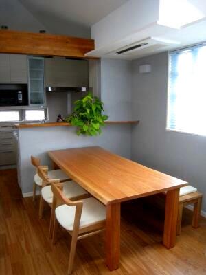 お気に入りの家具との出会い(ブラックチェリーのテーブル)_e0010418_1734129.jpg
