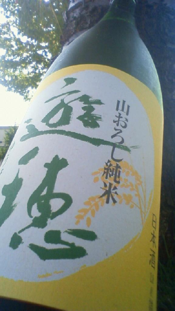【日本酒】 遊穂 山おろし 純米酒 19BY_e0173738_11545072.jpg