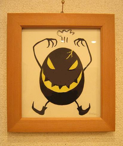 たまごの工房 第4回 怪獣図鑑展 その5_e0134502_1849465.jpg