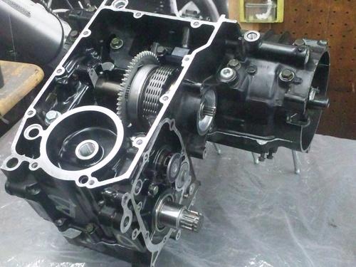 カワサキGPZ400Rエンジンオーバーホール・・・その6_a0163159_20381649.jpg