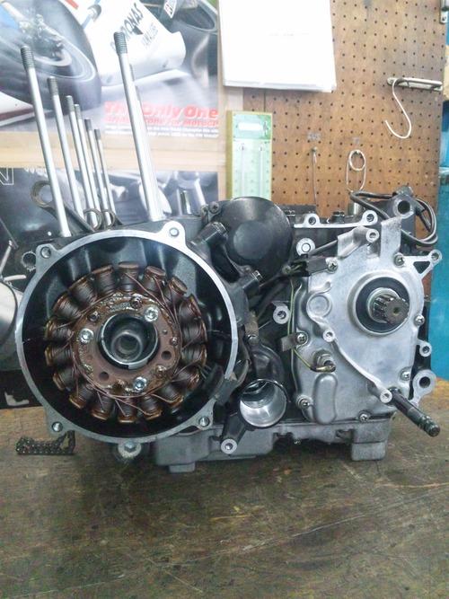 カワサキGPZ400Rエンジンオーバーホール・・・その6_a0163159_20385386.jpg