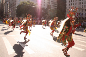 ニューヨーク・ヒスパニック・デー・パレードに遭遇_b0007805_13342720.jpg