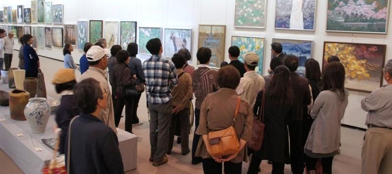 11年10月10日・茨城県芸術祭美術展覧会ギャラリートーク二日目_c0129671_18293894.jpg