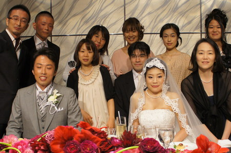 Happy Wedding!!  (2011年10月9日)_f0170586_13384086.jpg