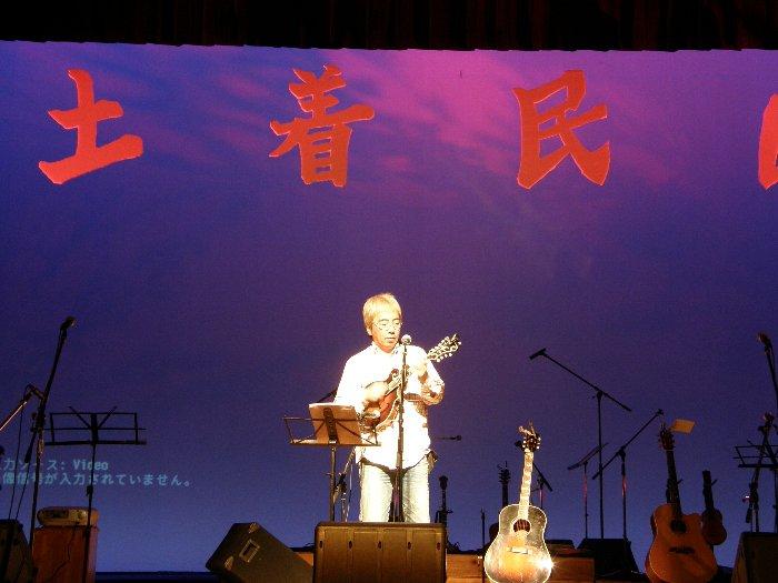 土着民40周年記念コンサート リハーサル編_c0057390_16474569.jpg