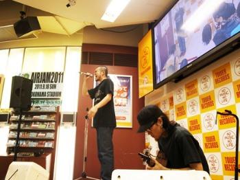 MOROHAとおとぎ話と曽我部さんinタワレコ新宿店♪_a0077907_18395252.jpg