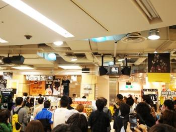 MOROHAとおとぎ話と曽我部さんinタワレコ新宿店♪_a0077907_18395764.jpg