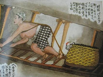 山本作兵衛の画文集「炭鉱に生きる」 : 根府川ライフ
