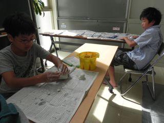 淀川図書館「絵と本〜キッズクラフト展」2011_d0076558_17172211.jpg