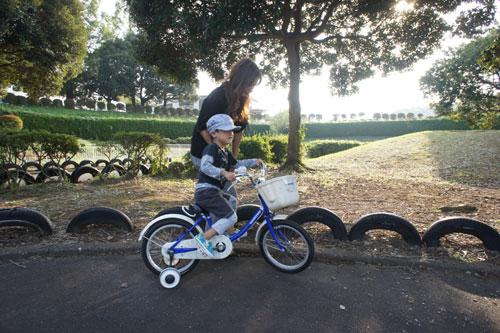 自転車の特訓_b0155675_1818235.jpg