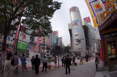 10月11日(火)今日の渋谷109前交差点_b0056983_19254485.jpg