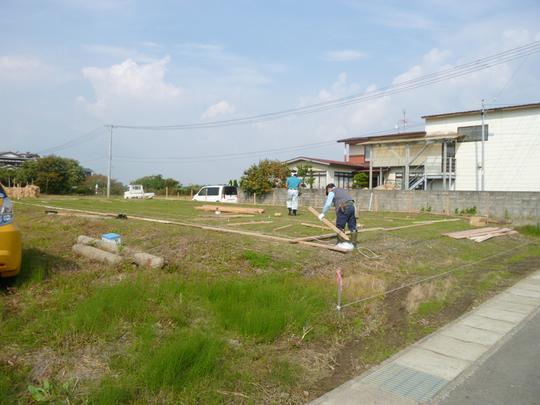 U様邸「下新城の家」 遣り方_f0150893_17262324.jpg