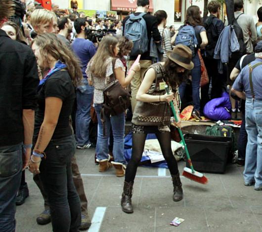 あまりメディアが伝えないニューヨークのウォール街デモの素顔_b0007805_1250319.jpg