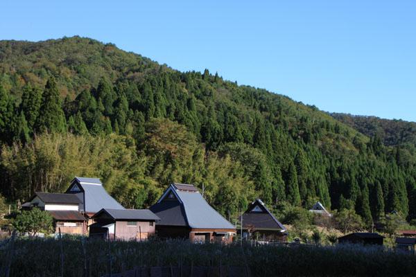 朽木の生杉 秋景色_e0048413_2127617.jpg