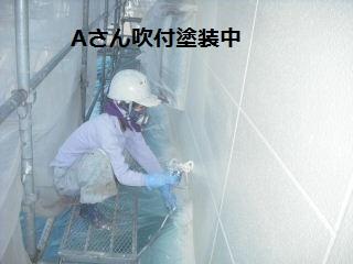 塗装工事…養生作業…スロープつくり_f0031037_21455586.jpg