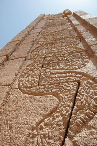 【スーダン周遊】 ナカ遺跡 (2) ライオン神殿とキオスク_c0011649_9272895.jpg