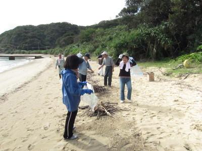 スリ浜ボランティア清掃_b0177163_1650523.jpg