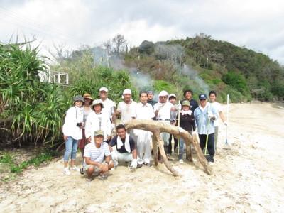 スリ浜ボランティア清掃_b0177163_16523919.jpg
