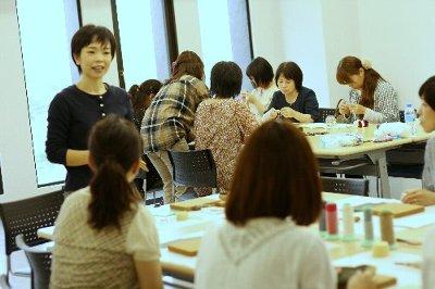 革こもの&あみぐるみのお教室_f0224568_19243614.jpg