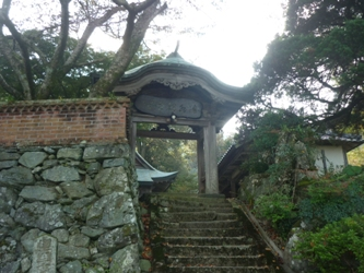 秋のドライブ。若宮の「清水寺」。_e0188087_22175427.jpg