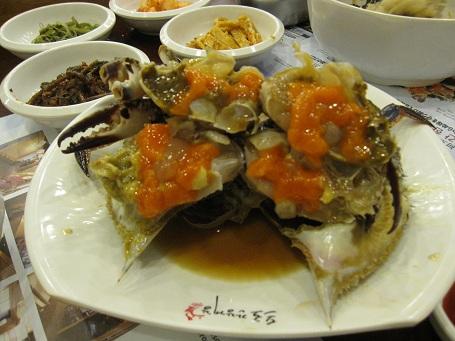 ソウル旅行2011.9:カンジャンケジャン_b0189489_2146123.jpg