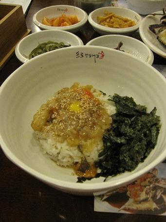 ソウル旅行2011.9:カンジャンケジャン_b0189489_21512959.jpg