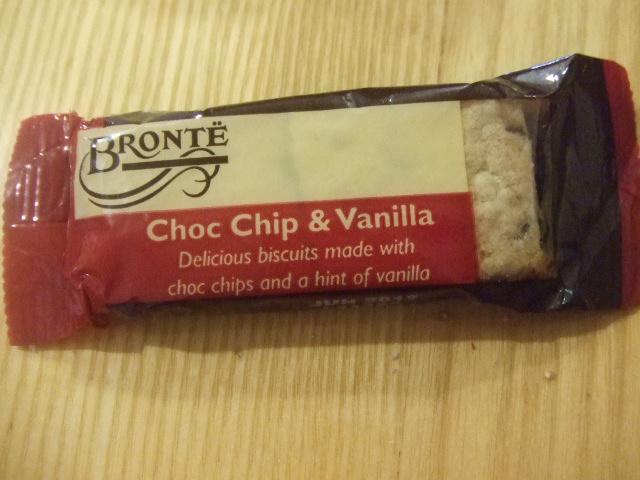 BRONTE チョコチップ&バニラ_f0076001_23105522.jpg