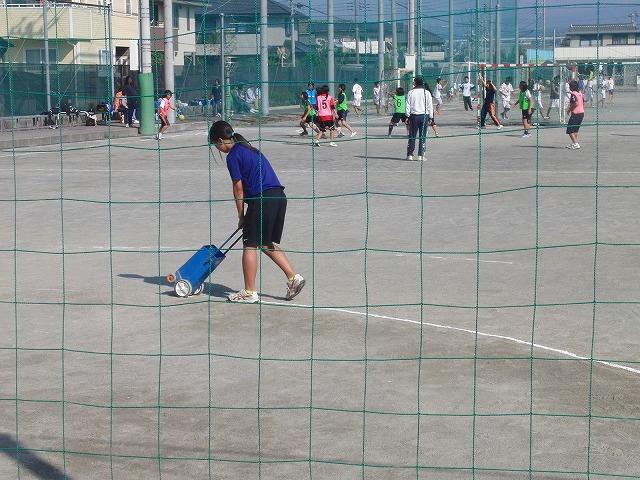 今年も晴天の下で行なわれた富士市スポーツ祭ハンドボール大会_f0141310_750576.jpg