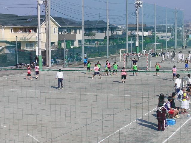 今年も晴天の下で行なわれた富士市スポーツ祭ハンドボール大会_f0141310_750970.jpg