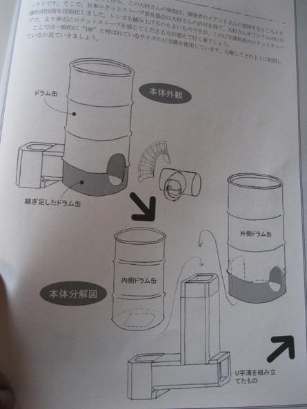 「ロケットストーブ」作り~☆_a0125419_15304265.jpg