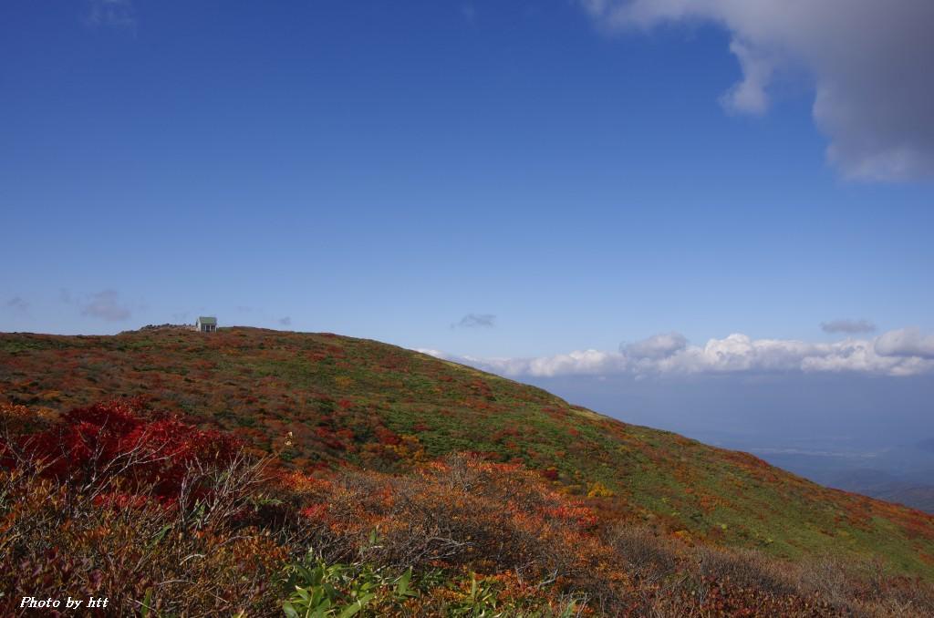 2011年10月12日 船形山紅葉登山_f0148627_22421219.jpg