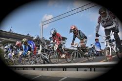 10月10日CSC BMX愛好会/チャッキーカップVOL2:チャッキーカップ第4戦予選第1ヒート_b0065730_22381198.jpg