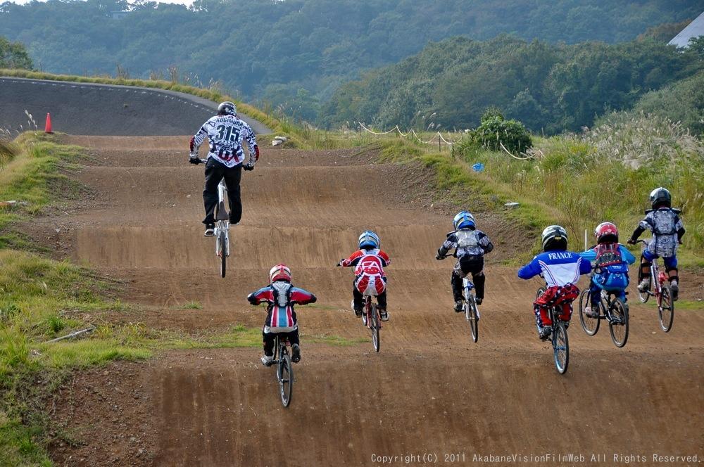 10月10日CSC BMX愛好会/チャッキーカップVOL2:チャッキーカップ第4戦予選第1ヒート_b0065730_2256646.jpg