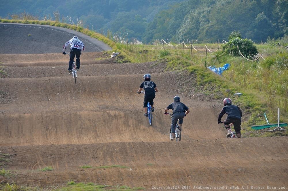 10月10日CSC BMX愛好会/チャッキーカップVOL2:チャッキーカップ第4戦予選第1ヒート_b0065730_230333.jpg