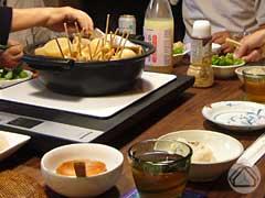 ∵食卓の風景。ごちそうさまでした♪_d0040733_1258266.jpg