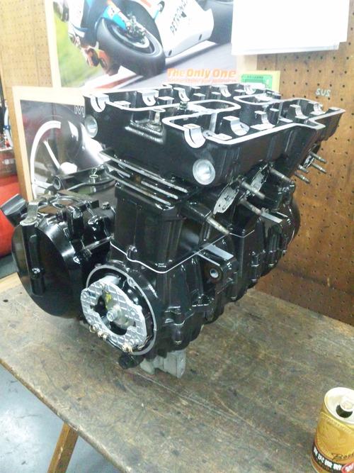 カワサキGPZ400Rエンジンオーバーホール・・・その7_a0163159_21412228.jpg