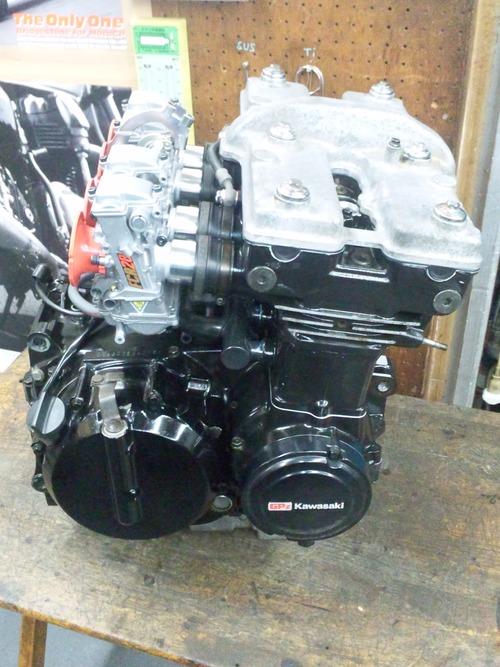 カワサキGPZ400Rエンジンオーバーホール・・・その7_a0163159_21425976.jpg